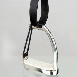 Horze Peacock Sicherheits-Steigbügel mit Gummiring