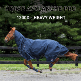 Horze Supreme Avalanche Combo Winterdecke