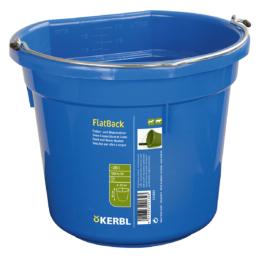Kerbl Futter- und Wassereimer FlatBack, ca. 20L