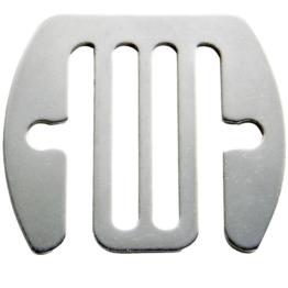 Bandverbinder Inox 40 mm, 5 Stück