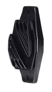 Breitbandisolator 40 mm, Farbe schwarz, 10 Stück