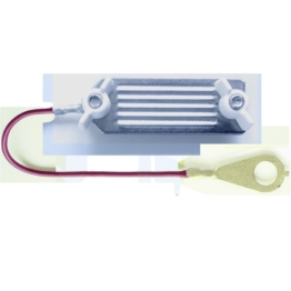 Elektrozaun-Verbinder, Bandbreite bis zu 40 mm, Länge 130 cm