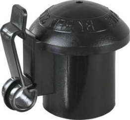 Kappen Isolator für T-Pfosten, 10 Stück - Weidezaun Zubehör Patura