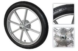 Komplett Rad 16 x 2,5  inkl. Bremsscheiben f. Sulky Cavalettie / Pirouette NEU