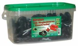 Ringisolator Kompakt, 100 Stück im Eimer inklusive Einschraubhilfe