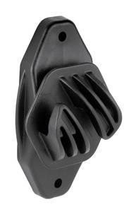 Seilisolator Euro Cord, Farbe schwarz, 10 Stück im Beutel