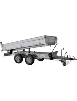 Set: PKW-Anhänger »Rückwärtskipper 2,7 t«, inkl. elektrischer Hydraulik