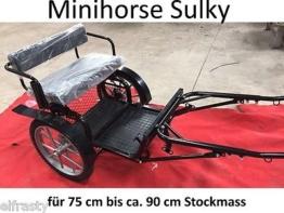 Sulky Kutsche für Minihorse Minishetty