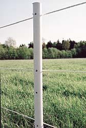 Zaunpfähle UniPost - 180 cm lang - in verschiedenen Farben
