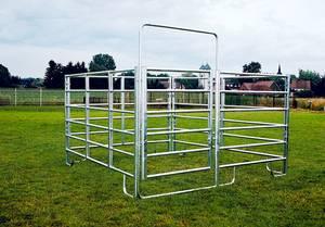 Pony Panel Boxen Sets - 3 Zaunelemente + 1 Zaunelement mit Tor in verschiedenen Breiten Patura