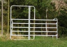 Zaunelemente Pony Panel mit Tor - in verschiedenen Breiten Patura