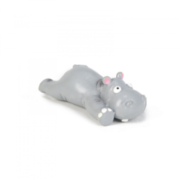 Beeztees Latex Hundespielzeug Hippo