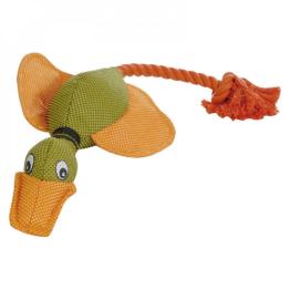 Hundespielzeug mit Seil
