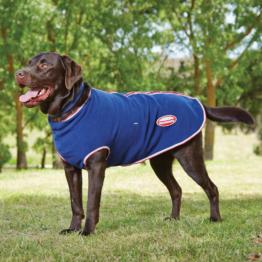 Weatherbeeta Fleece Hundemantel mit Reißverschluss