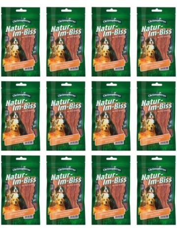 Hundesnack »Hähnchenbrustfiletstreifen«, 12 x 70 g