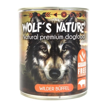 Wolf´s Nature ® Wilder Büffel 800 g